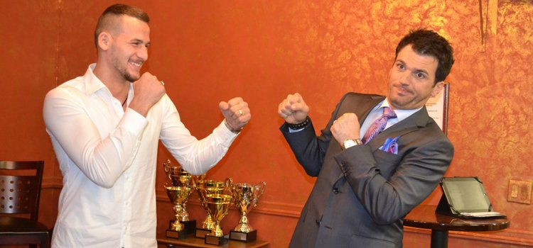Camelot enters the boxing ring with DWTS champ Tony Dovolani | Camelot